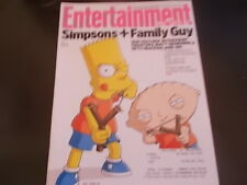 The Simpsons meet Family Guy, Nick Cave, Dan Stevens - Entertainment Weekly 2014
