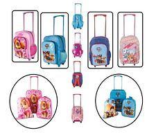 PAW PATROL Disney KIDS BOYS GIRLS CABIN TROLLEY BACKPACK HAND LUGGAGE BAG PINK