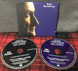 Phil Collins - Hello I Must Be Going ! - CD Editoriale Doppio Disco Come Foto N