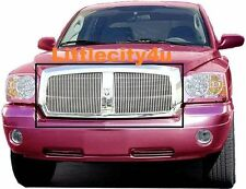For 2005 06 07 Dodge Dakota Vertical Billet Grille Insert Bolt on