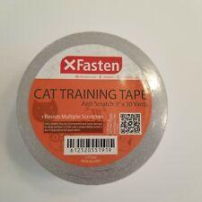 Xfasten Anti Cat Scratch Tape, 3 inches x 30 Yards Cat Training Tape Resists
