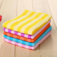 Lots 5PC Microfiber Dishcloth Square Kitchen Washing Cleaning Towel Dish Cloth