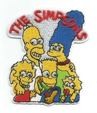 Simpsons Character Simpsons Family Novelty Cloth Patch - Sew-on / Iron-on Patch