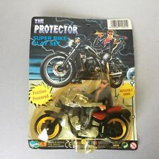 VINTAGE#  Terminator 2 Judgment Day  Arnold Action Figure Bootleg PROTECTOR BIKE