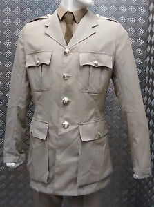 Genuine British RAF / ARMY No 4 No 6 Officers WO Dress Jacket Safari / Stone NEW