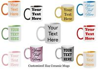Customized Mugs 7 Ceramic Mugs to Choose From  Personalized Coffee Mug Custom