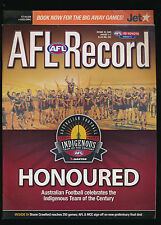 2005 AFL Football Record St Kilda Saints vs Geelong Cats Aug 5-7  unmarked