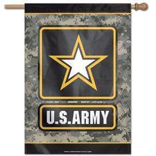 "U.S. Army Camo 28""X40"" Banner Flag Brand New Wincraft"