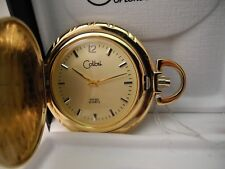 Colibri Swiss Goldtone Pocket Watch New ! Reduced Clearance