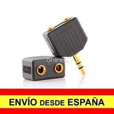 Adaptador Mini Estereo Jack 2,5 mm Macho a Doble Jack Hembra 3,5 v526