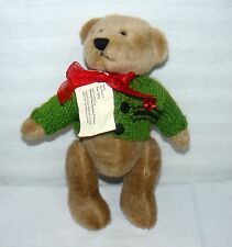 "SHANGHAI HEART TO HEART PLUSH COLLECTIBLE 12"" BEAR W TAG SURGERY SURVIVOR"