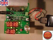 Corrente costante scarico carico elettronico 9.99 A 60 W 30 V Capacità della batteria Tester