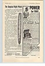 1912 Paper Ad  Panatela Cuban Cigars White Cross Vibrator Remington Cartridges