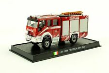Giant Fire Truck FIRETECH 4000-1999 IVECO MARIGUS Italy Diecast Model 1:64 No10