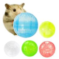 Pet Rodent Mice Joggingamster Gerbil Rat Playing Exercise Ball Plastic Toy Nice
