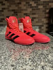New Adidas Speedex 18 Boxing Shoes Size 8.5 Us Fx1995 Pink/Black $150 Msrp