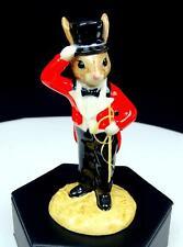 "Royal Doulton #Db165 Ringmaster Bunnykins 4 1/4"" Figurine 1996"