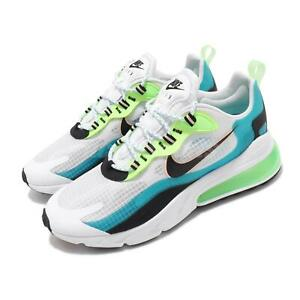 Nike Air Max 270 React SE Oracle Aqua White Green Black Men Shoes CT1265-300
