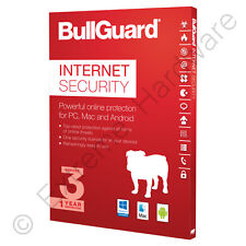 Bullguard Internet Security Multi Device 2018 3 Device 1 Year Retail Licence Key