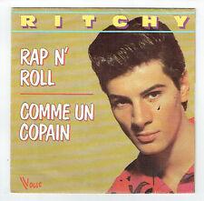 """RITCHY Vinilo 45T 7"""" RAP N' ROLL - COMME UN NOVIO Vespa VOGUE 101789 RARO"""