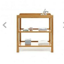 Obaby Open Changing Unit (country pine) Wooden Nursery Funiture