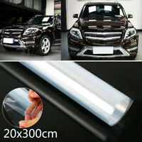 3M*20cm Clear Car Auto Protective Film Vinyl Door Edge Paint Protection 118x8''