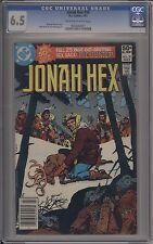 JONAH HEX #50 / CGC 6.5 __ BRONZE AGE __