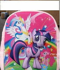 NEW MY LITTLE PONY  3D Effect Girls PINK COLOUR Backpack / Bag School / Travel