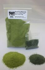 Model Scatter Flock - Moss Green - Free Dark Green Mixer Warhammer Railway 50g