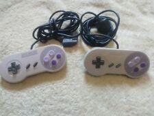 Super Nintendo Controller Snes Official Classic Original Gamepad 2x pair