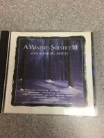 A Winter's Solstice III [Audio CD] Windham Hill Artists