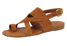 New Franco Sarto Artist Collection GIA Leather Women Sandals Size 8.5 cuoio