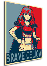 Poster Propaganda Fire Emblem Heroes Brave Celica