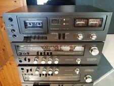 Telefunken TR 300 + HC 400 Receiver + Kassettendeck Vintage 1978 Top Zustand !