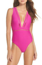 NWOT fuchia  pink One-Piece Swimsuit TED BAKER LONDON  size 3 (8-10 in US)