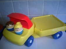 Little Tikes Toddle Tots Truck + People Vintage Toys
