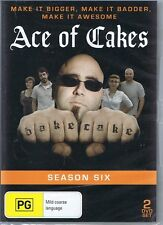 ACE OF CAKES - Season Six 6 NEW/SEALED 2x DVD Make It Bigger & Badder FREE POST