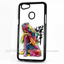 ( For Oppo AX7 ) Back Case Cover AJ10148 Buddha