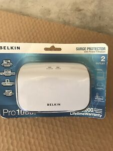 *New Sealed* Belkin Pro1000 Series Surge Protector With Power Filtration