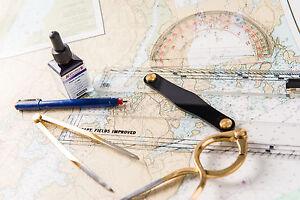 Learn navigation, marine charts ,nautical yacht , radar at sea on a DVD DISK