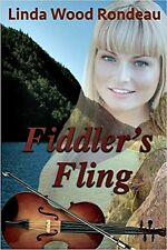 FIDDLER'S FLING_NEW PB 2015_SIGNED_LINDA WOOD RONDEAU_ROMANCE_RELIGIOUS_FREE S/H