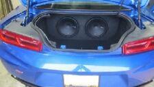 *New* 2016-2020 Camaro Lt/Ls/Ss/Zl1 Dual 12 Rear Fire Subwoofer Box
