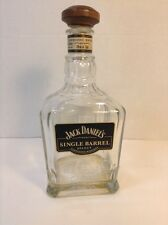 Jack Daniels Single Barrel Select Whiskey Empty Bottle Dated 7-26-13