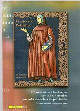 folder postale francesco petrarca - 2004