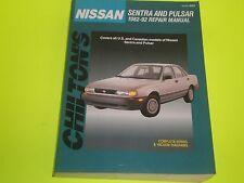 1982-1992 NISSAN SENTRA / PULSAR CHILTON REPAIR MANUAL NEW OLD STOCK FREE SHIP