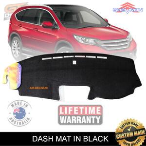 DASH MAT Honda CR-V VTi  VTi-S VTi-L All Models 11/2012-5/2017 BLACK DM1291 CRV