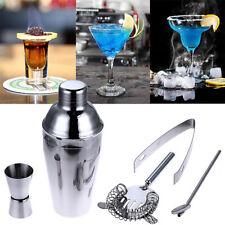 5pcs 750ml Cocktail Shaker Making Kit Mixer Drink Bartender Martini Tool Bar