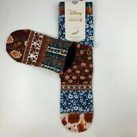 Stance Disney Beauty & The Beast Collection Women Crew Socks Sz S Shoe 5-7.5 $20