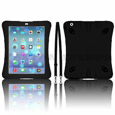 Survivor Military Heavy Duty Shock Proof Tough Case Cover for iPad iPhone Galaxy Apple iPad 4 iPad 3 iPad 2 Dark Blue