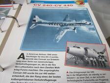 Fliegen 2: Karte 38 Convair CV 240 , CV 440